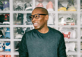 ForceField U.S. ambassador, Jacques Slade has built an impressive following online in the footwear space