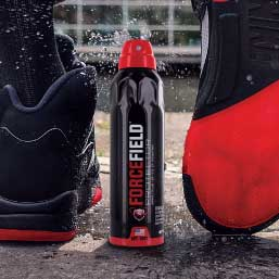 Tread fearlessly with the help of armor-like protection from ForceField sneaker protector